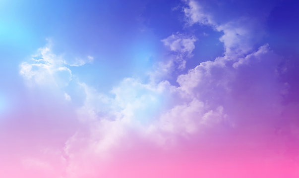 The magical imagination of the sky, the magic of the sky, the pastel clouds for background images and the placement of beautiful letters