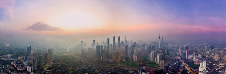 Photo Stands Kuala Lumpur Kuala Lumpur panorama image