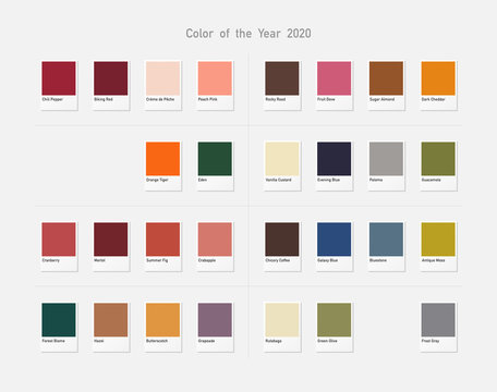 2020 color collection.