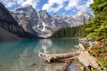 Kanada, Moraine Lake im Banff Nationalpark, Canadian Rockies, Alberta