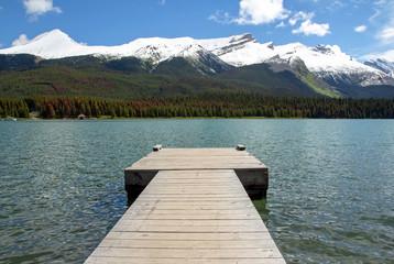 Kanada, Maligne Lake im Jasper Nationalpark, Canadian Rockies