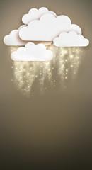 shining rain or snow