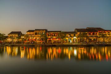 Tourist landmark of the city Hoi An. Vietnam