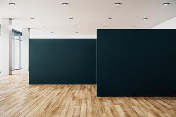 Clean gallery interior Fototapete