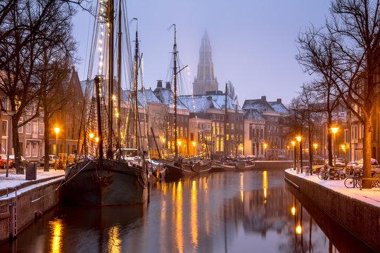 Historic sailing ships Groningen