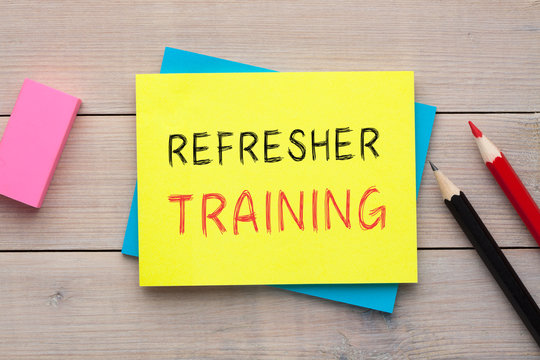 Refresher Training Concept