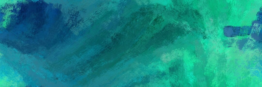 endless pattern. grunge abstract background with teal, light sea green and midnight blue color. can be used as wallpaper, texture or fabric fashion printing