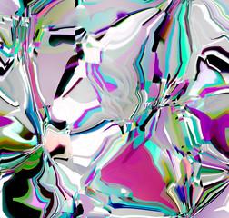 Fotobehang Paradijsvogel Abstract pattern. Digital art design