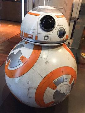 Star Wars BB-8 Droid bb8 StarWars Identities Exhibition