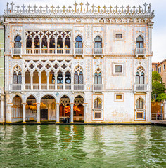 Tuinposter Venice View of Grand Canal in Venice, Italy