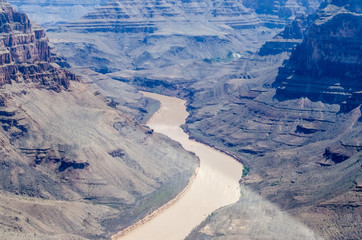 Aerial view of Grand Canyon, Arizona, USA