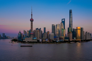 Wall Murals Shanghai The scenery of the Pujiang River