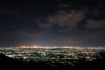 福岡市片江展望台からの夜景