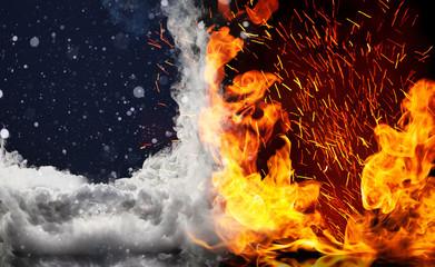 ice versus fire