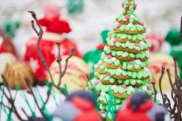 delicious gingerbread christmas trees
