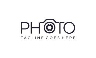 Creative camera for photography logo ideas