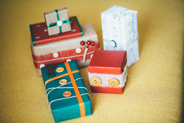 Classy Christmas gifts box presents