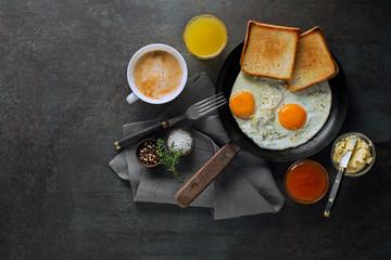 Breakfast healthy egg