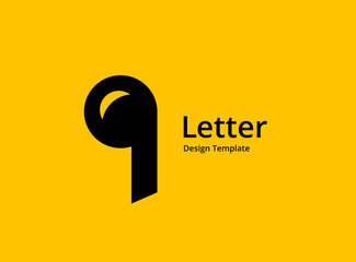 Letter Q music logo icon design template elements