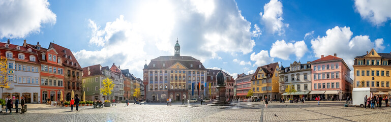 Wall Mural - Marktplatz, Rathaus, Coburg, Bayern, Deutschland