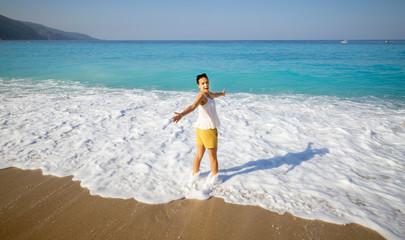 Beach in Oludeniz, Turkey