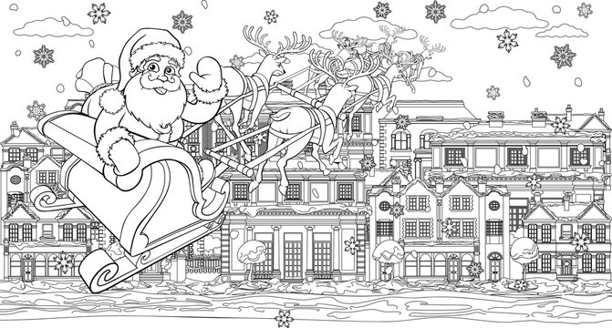 54 919 Best Christmas Colouring Book Images Stock Photos Vectors Adobe Stock