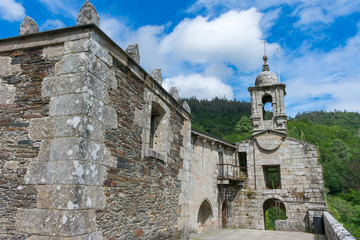 bell tower of the monastery of Las Fragas do Eume