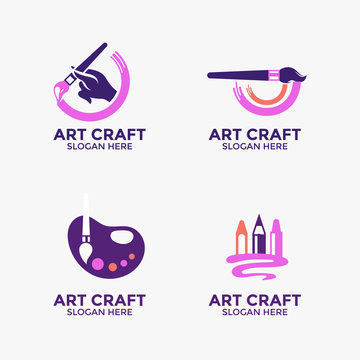 Collection of vector logo design creativity and art