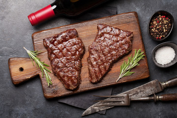 Wall Mural - Grilled beef steak