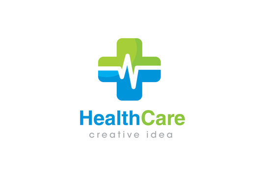 Creative Health Care Concept Logo Design Template