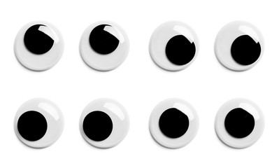 Googly Eyes Pairs Fototapete