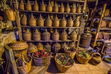Wine Cellar - Monastery of Varlaam, Meteora,Greece