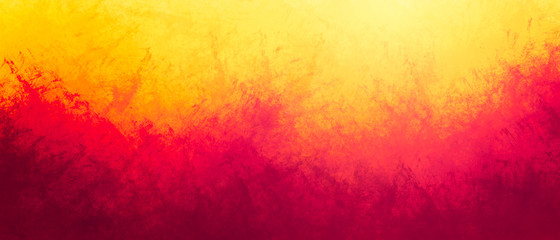 Rough gradient splash texture in sunrise colors background