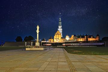 The Jasna Gora sanctuary in Czestochowa, Poland