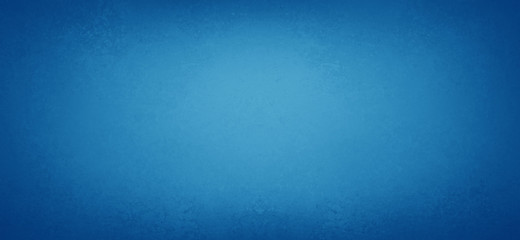 Bright pretty blue background with smooth blurred soft texture border, elegant blue paper with dark vintage vignette