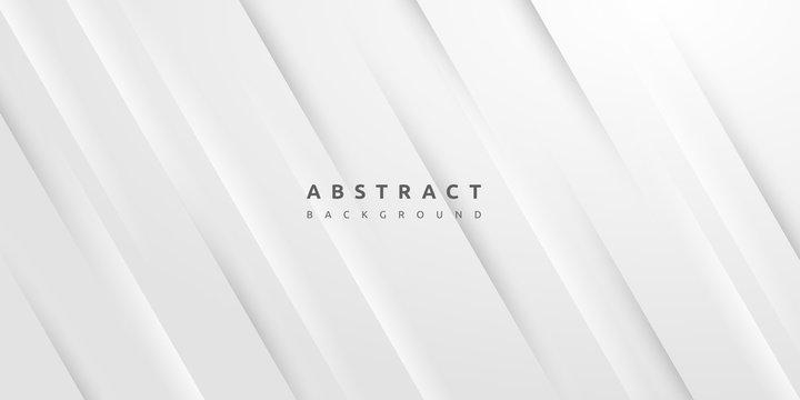 Dynamic minimal blank white stripe texture background
