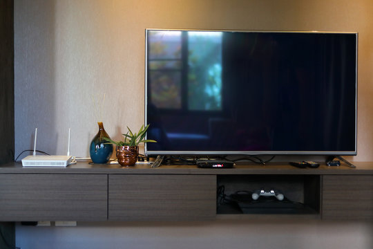 television led screen decoration interior home living room