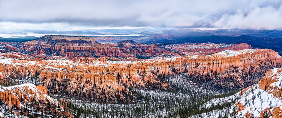 Bryce Canyon in winter Wall mural