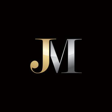 JM Elegant Initials Logo