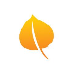 Leaf Logo, Aspen leaf Logo