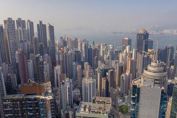 15 Nov 2019, view the Central HK at Robinson Road