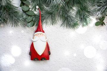 Weihnachtsman - Santa - Claus - Hintergrund Weihnachten