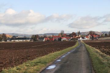 Ilmtal-Radweg bei Stadtilm (Kleinhettstedt)