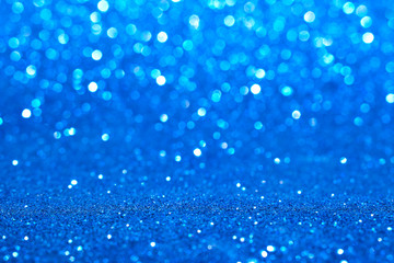 blue glitter abstract background