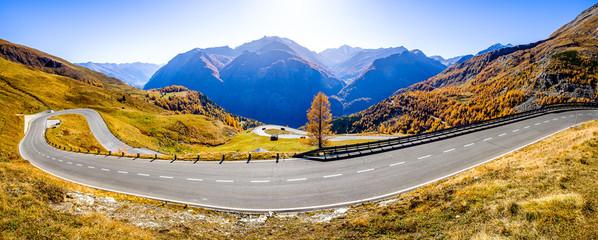 Wall Mural - grossglockner mountain in austria