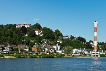 Bootstour auf der Elbe vom Hamburger Hafen bis Blankenese