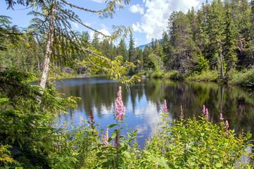 Kanada, Swim Lake nahe Whistler, British Columbia