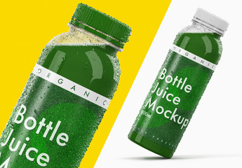 Juice Bottle Mockup