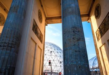 Säulen am Brandenburger Tor