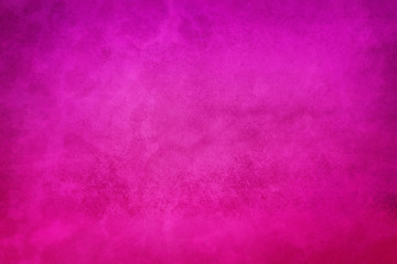 Wall Mural - soft pretty hot pink background texture with mottled old purple vintage grunge texture, violet pink paper design
